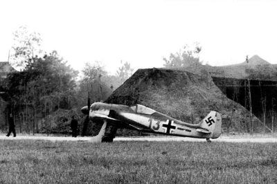 Focke-Wulf Fw.190 A-1 W.Nr 013 Gerhard Vogt 6./JG26 Abbeville-Drucat 1942 год