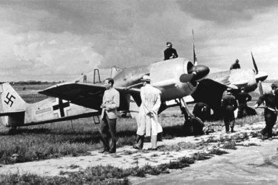 Focke-Wulf Fw.190 A-1 6./JG26 Ле-Бурже 1941 год
