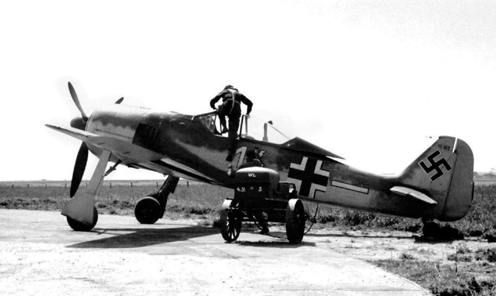 Focke-Wulf Fw.190 A-1 W.Nr 10015 4./JG26