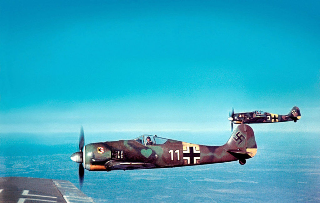 Focke-Wulf Fw.190 A-4 1./JG54 1943 год