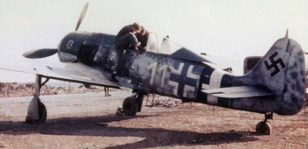 Focke-Wulf Fw.190 A-8 W.Nr 681497 II/JG4 1945 год