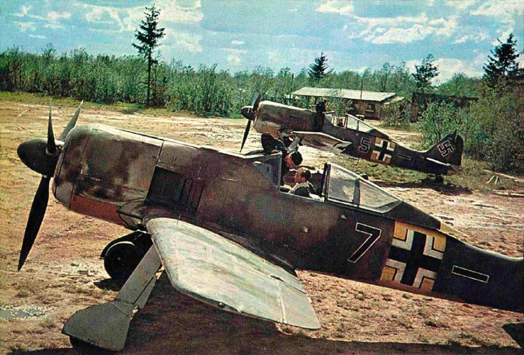 Focke-Wulf Fw.190 A-5 Lt. Emil Lang 5./JG54 1943 год