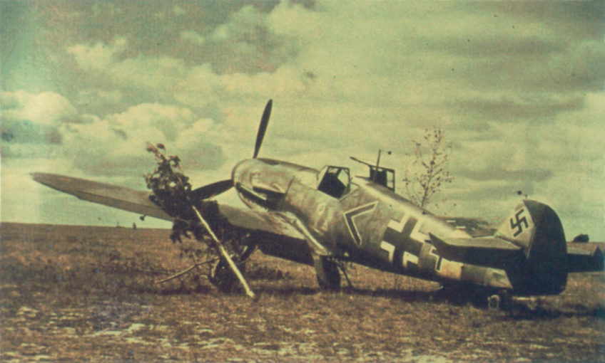 Messerschmitt Bf.109F in Color