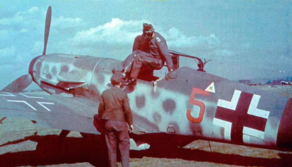 Messerschmitt Bf.109 G-14/AS 2./JG300 Borkheide осень 1944 года