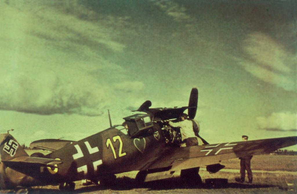 Messerschmitt Bf.109 G-2 9./JG54