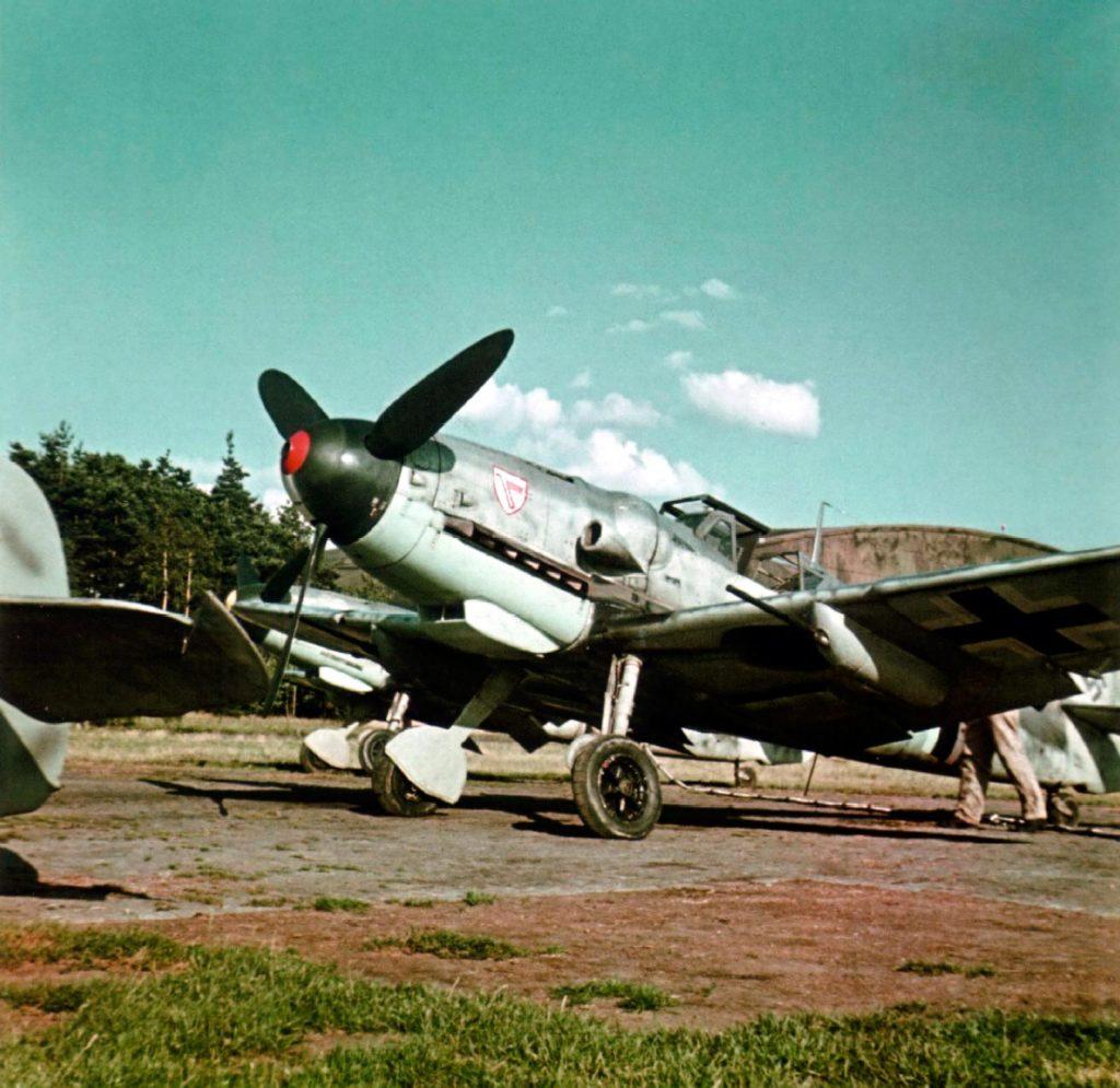 Messerschmitt Bf.109 G-6/R6 из I/JG3