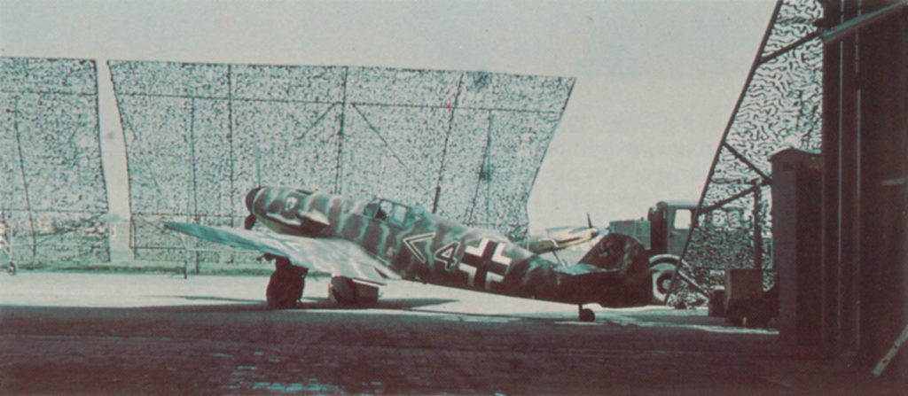 Messerschmitt Bf.109 F-2 штаб группы I/JG52 лето 1941 года