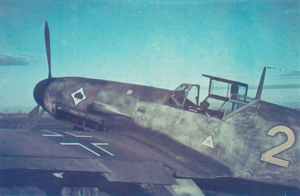 Messerschmitt Bf.109 F-4/Z 6./JG53 Comiso Сицилия январь 1942 года