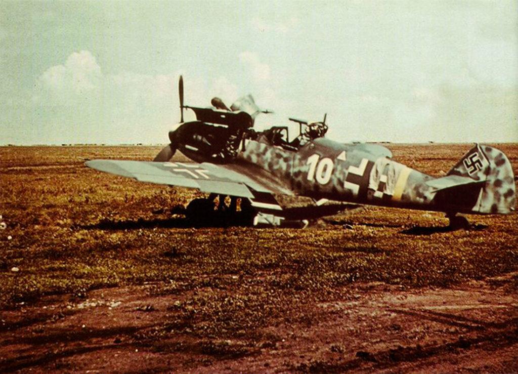 Messerschmitt Bf.109 G-6 1./JG52 Харьков Рогань лето 1943 года