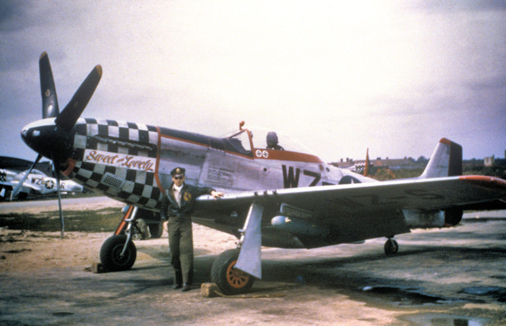 "North American P-51D-20NA Mustang s/n 44-72218 ""Sweet & Lovely"" Lt. Thomas V. Thain 78FG Duxford"