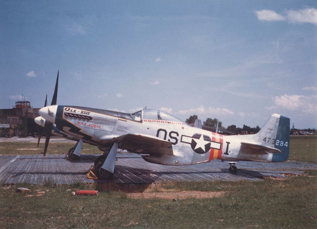 North American P-51D-25-NA Mustang s/n 44-73294 William J. Hovde 355FG