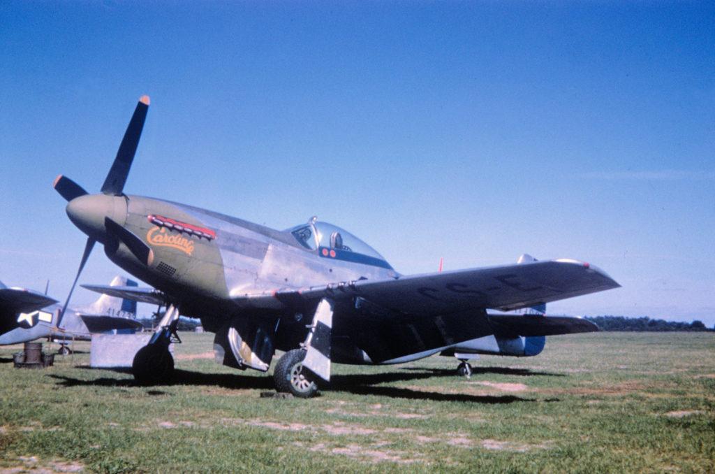 "North American P-51D-5-NA Mustang s/n 44-13893 ""Caroline"" 359FG East Wretham"
