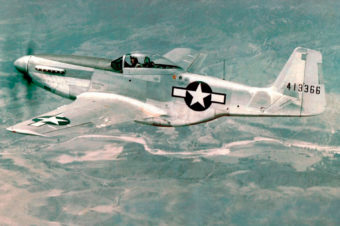 North American P-51D Mustang in Color
