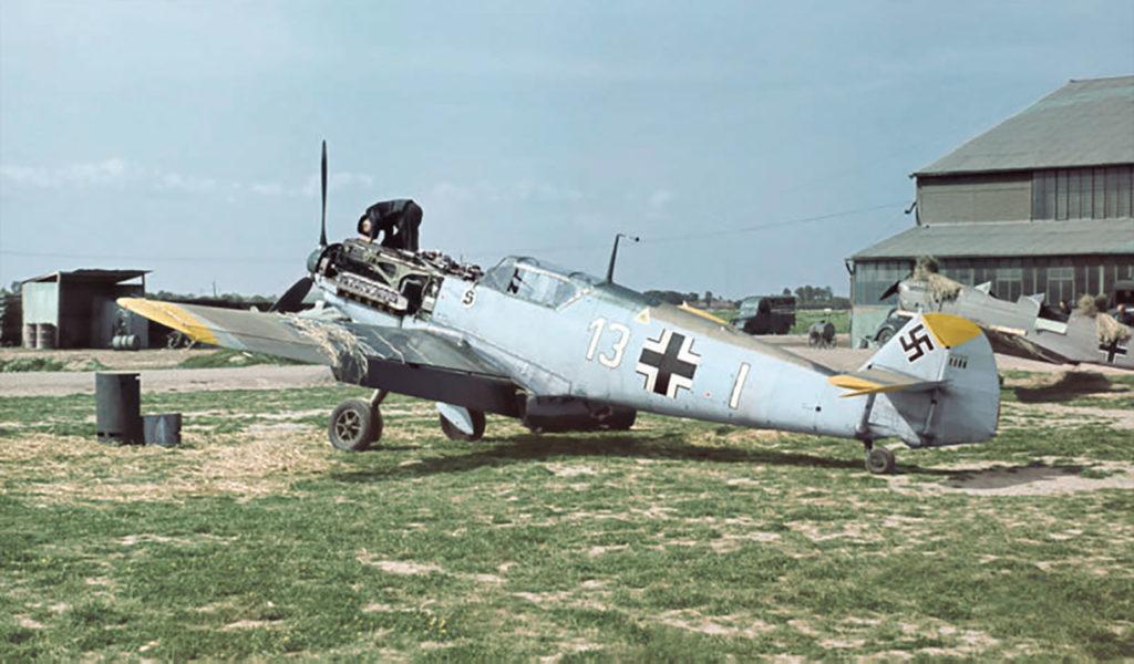 Messerschmitt Bf.109 E-3 Lt. Walter Blume 7./JG26 Кафье Франция лето 1940 года