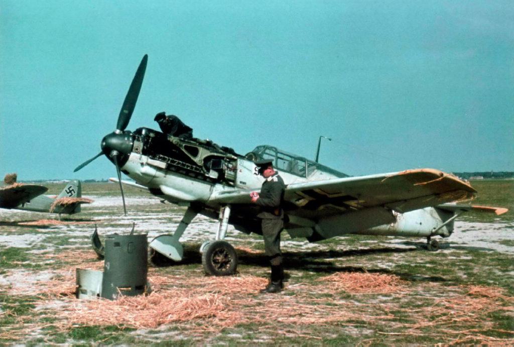 Messerschmitt Bf.109 E-3 Lt. Walter Blume 7./JG26 Caffiers Франция лето 1940 года