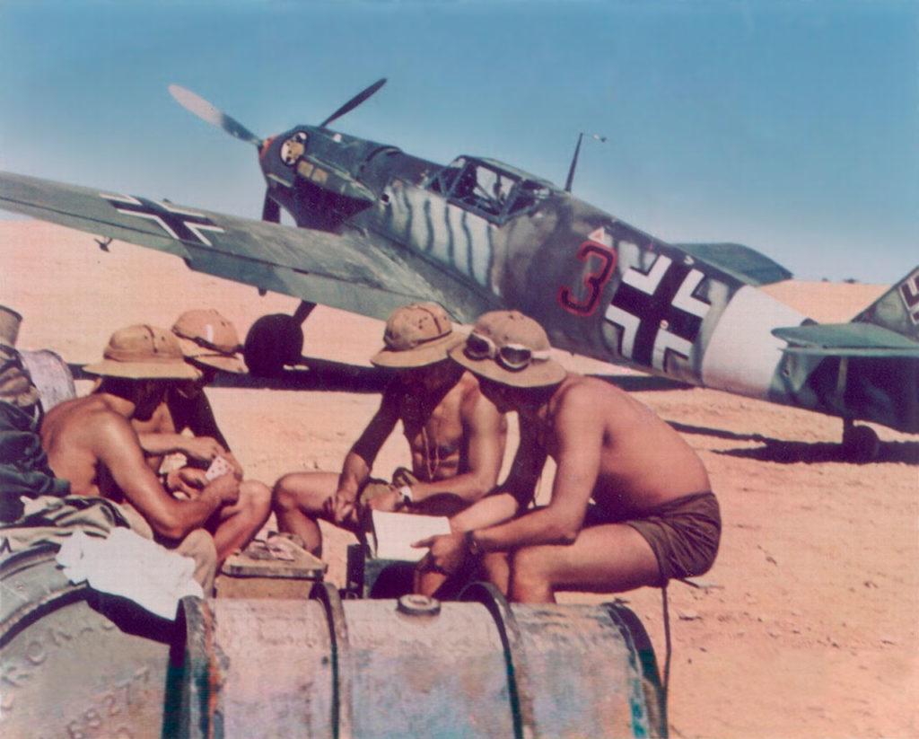 Messerschmitt Bf.109 E-7/trop I./JG27 Северная Африка