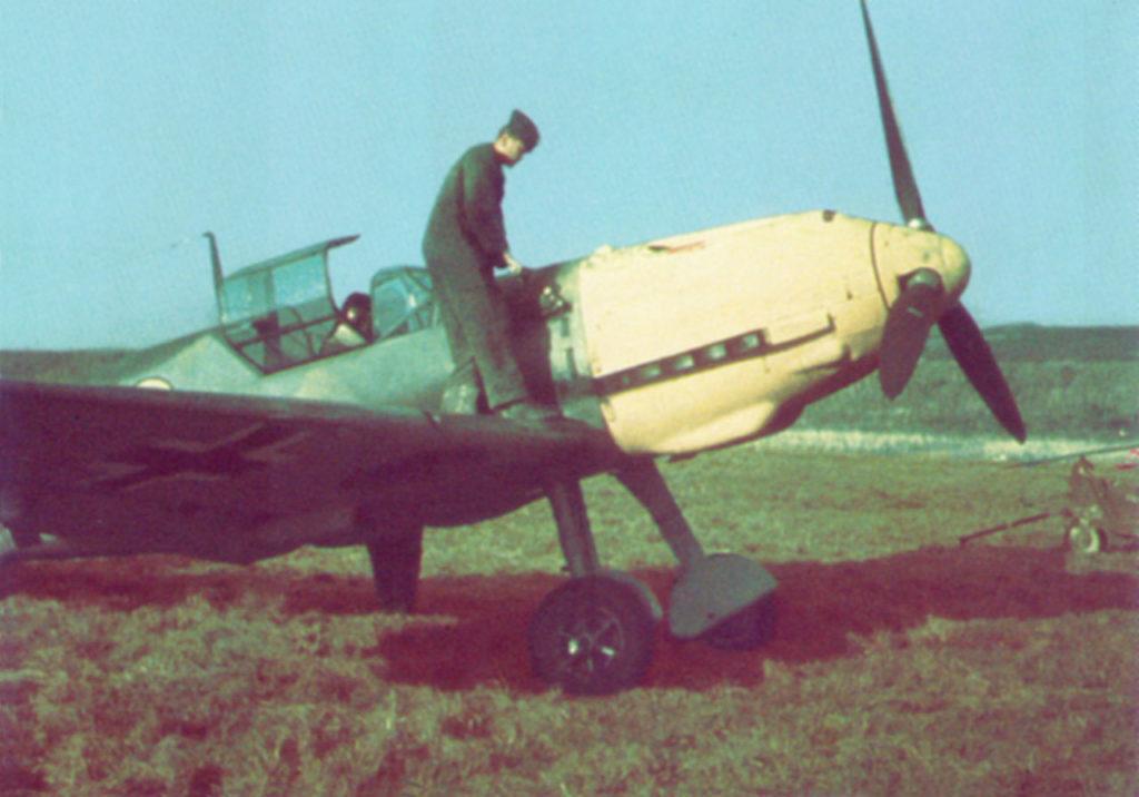 Messerschmitt Bf.109E JG53 Франция 1940 год