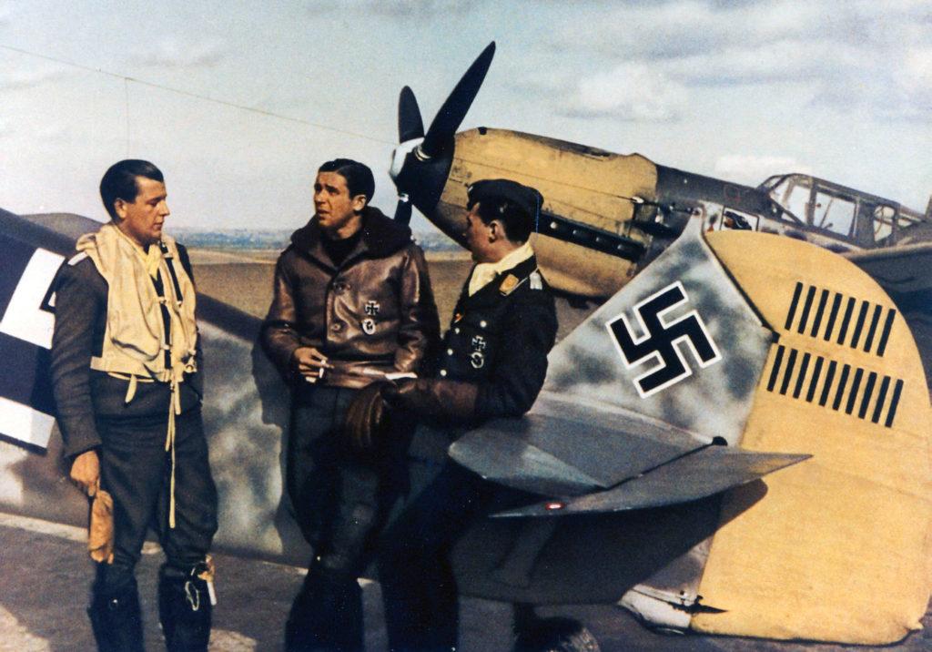 Messerschmitt Bf.109E Oblt. Hans Philipp 4./JG54 Campagne-lès-Guines, Франция октябрь 1940 года