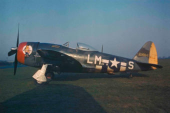 Republic P-47D Thunderbolt in Color