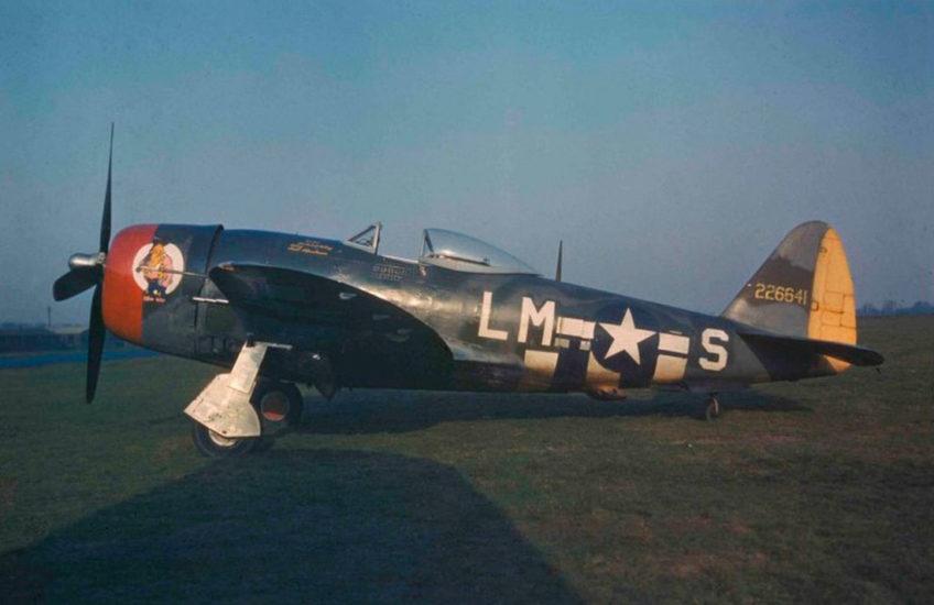Republic P-47D Thunderbolt in Color