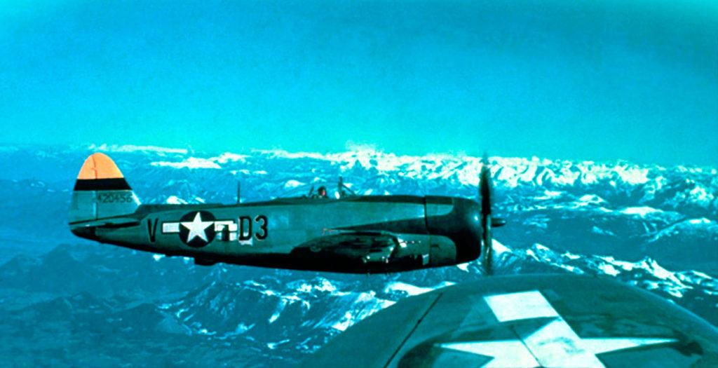 Republic P-47D-30-RE Thunderbolt s/n 44-20456 9AF 368FG 397FS