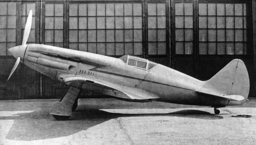И-200 первый прототип МиГ-1 на заводских испытаниях апрель 1940 года