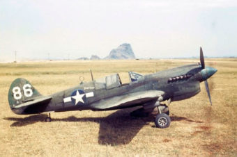 Curtiss P-40N Warhawk in Color