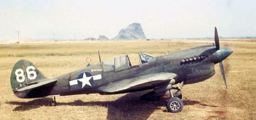 Curtiss P-40N Warhawk in Color