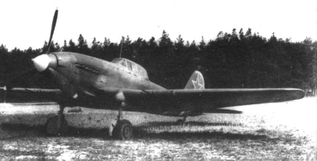 Штурмовик Ил-10 весна 1945 года