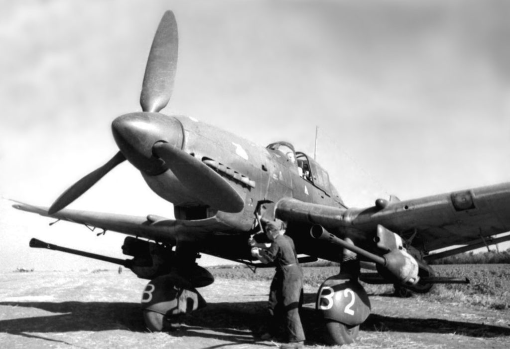 Junkers Ju.87 G-1 1943 год