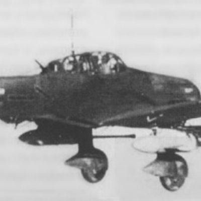 Junkers Ju.87 G-2 W.Nr 494193 Hans-Ulrich Rudel SG2 1944 год