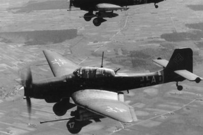 Junkers Ju.87 G-2 T6+AD SG2 1944 год