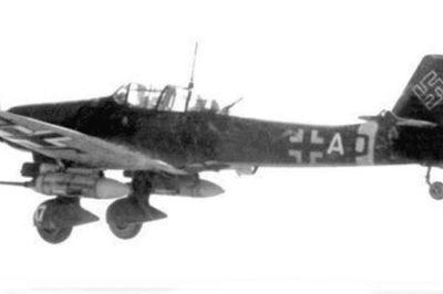 Junkers Ju.87 G-2 T6+AD, TJ+JE 10.(Pz)/SG2 1944 год