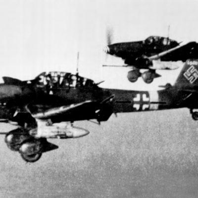 Junkers Ju.87 G-2 W.Nr 494193 Hans-Ulrich Rudel SG2 конец 1944 года