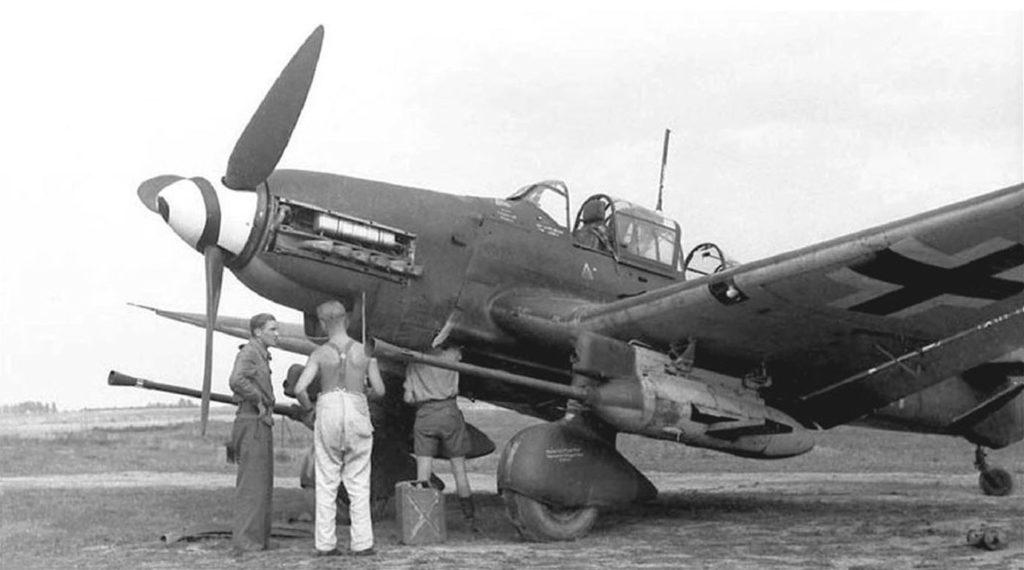 Junkers Ju.87G Kanonenvogel 1943 год