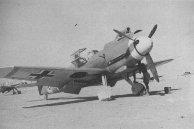 Messerschmitt Bf.109 F-4 Trop 8./JG27 Северная Африка, июль 1942 года
