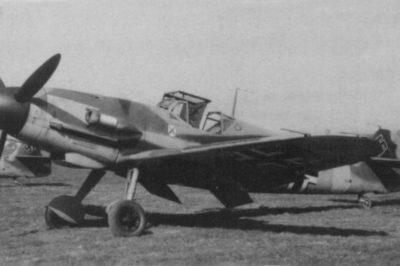 Messerschmitt Bf.109 F-4 trop I/JG3 1942 год