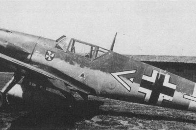 Messerschmitt Bf.109 F-4 trop W.Nr 8665 Hptm. Krahl JG53 Сицилия апрель 1942 года