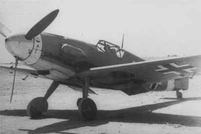 """Messerschmitt Bf.109 F-4 Trop W.Nr 10059 Hans-Joachim """"Jochen"""" Marseille JG27 1942 год"""