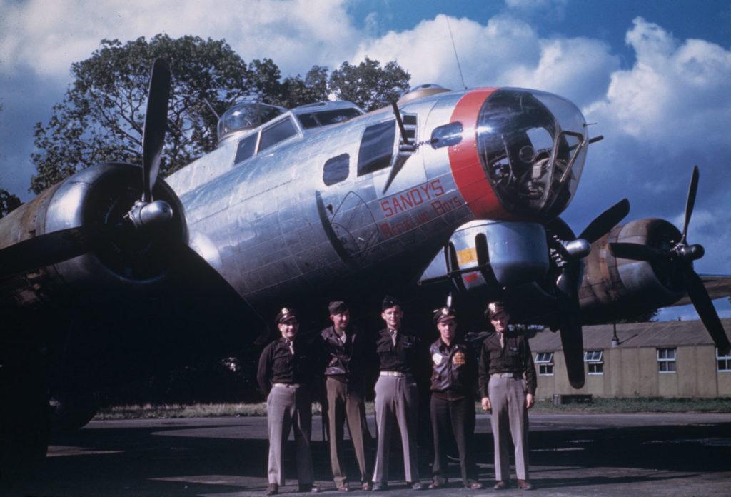 """Boeing B-17G-45-BO Flying Fortress s/n 42-97232 """"Sandy's Refueling Boys"""" 95BG"""