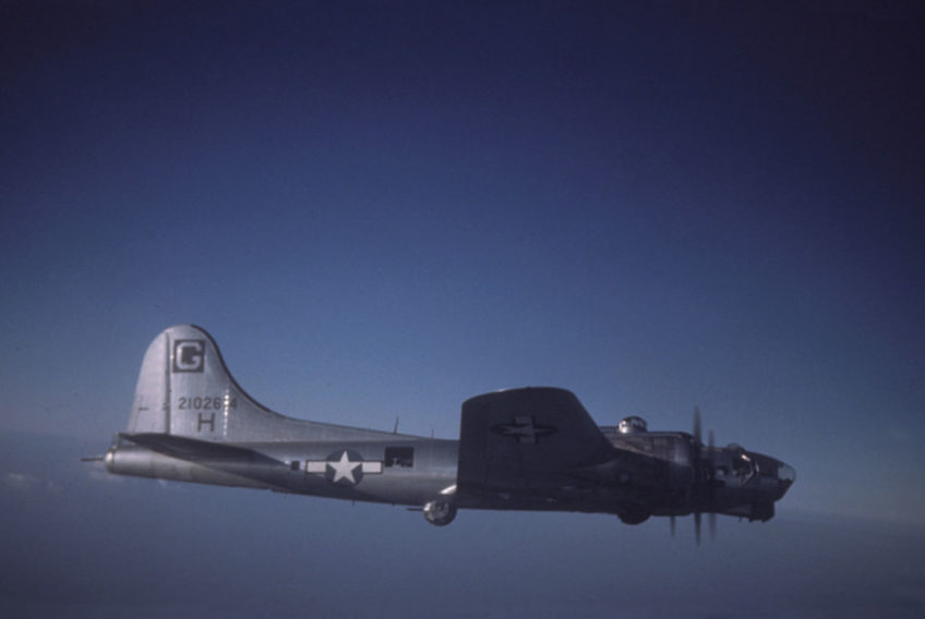 Boeing B-17G Flying Fortress in Color