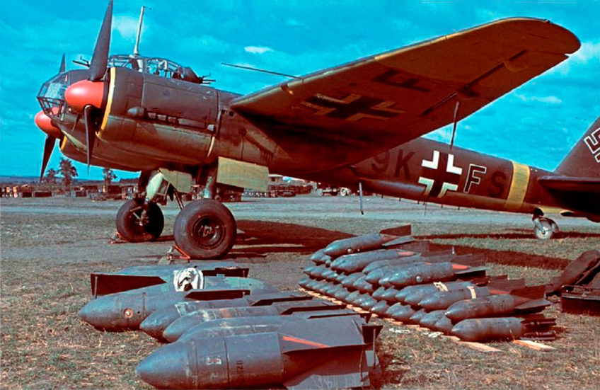 Junkers Ju.88A in Color