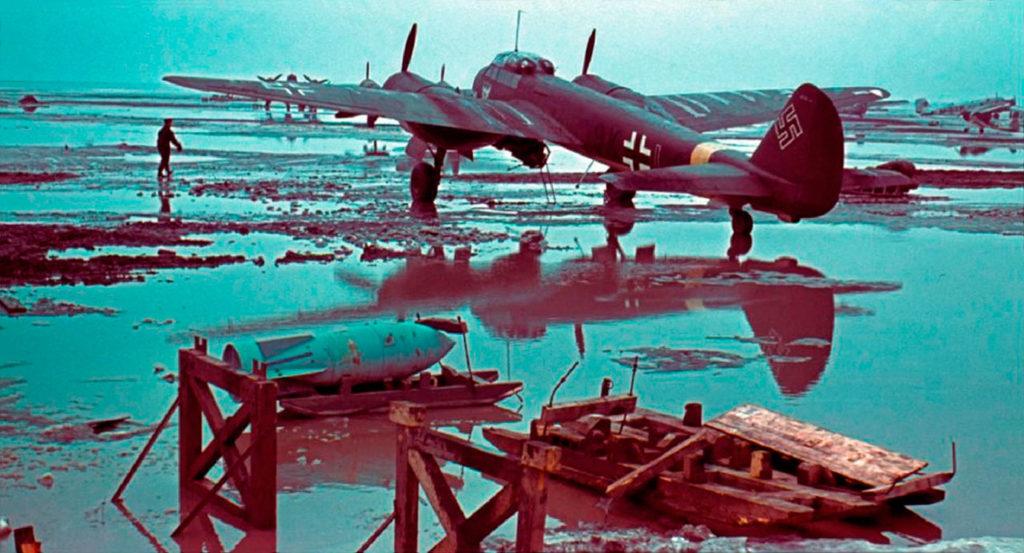 Junkers Ju.88A KG.51 Николаев февраль 1942 года