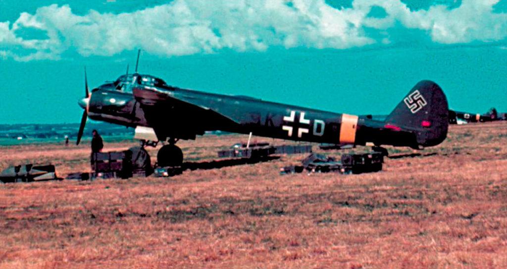 Junkers Ju.88A KG51 весна 1942 года