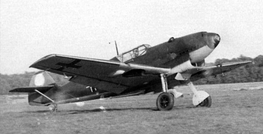 Messerschmitt Bf.109 C-3 в крыле две MG-FF