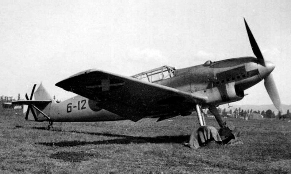 """Messerschmitt Bf.109A 6-12 """"Legion Condor"""" Испания"""