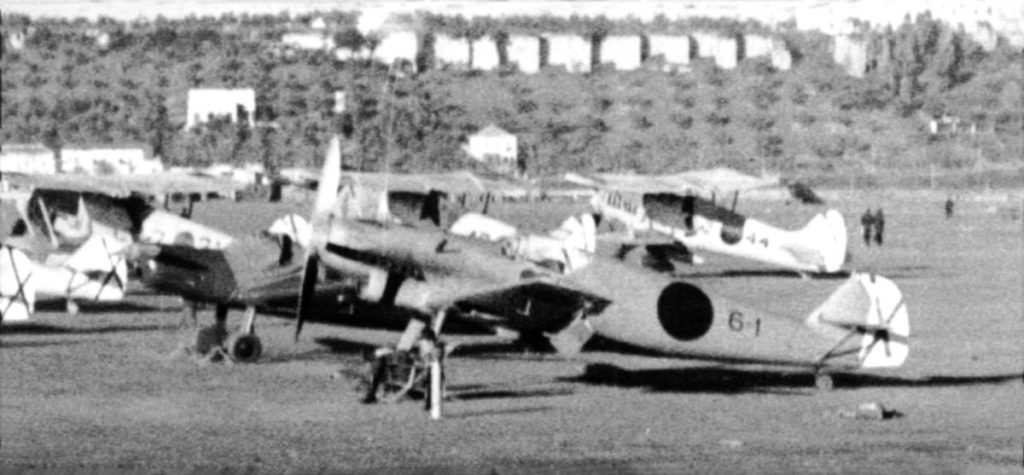 "Один из прототипов Messerschmitt Bf.109 6-1 Johannes ""Hannes"" Trautloft ""Legion Condor"""