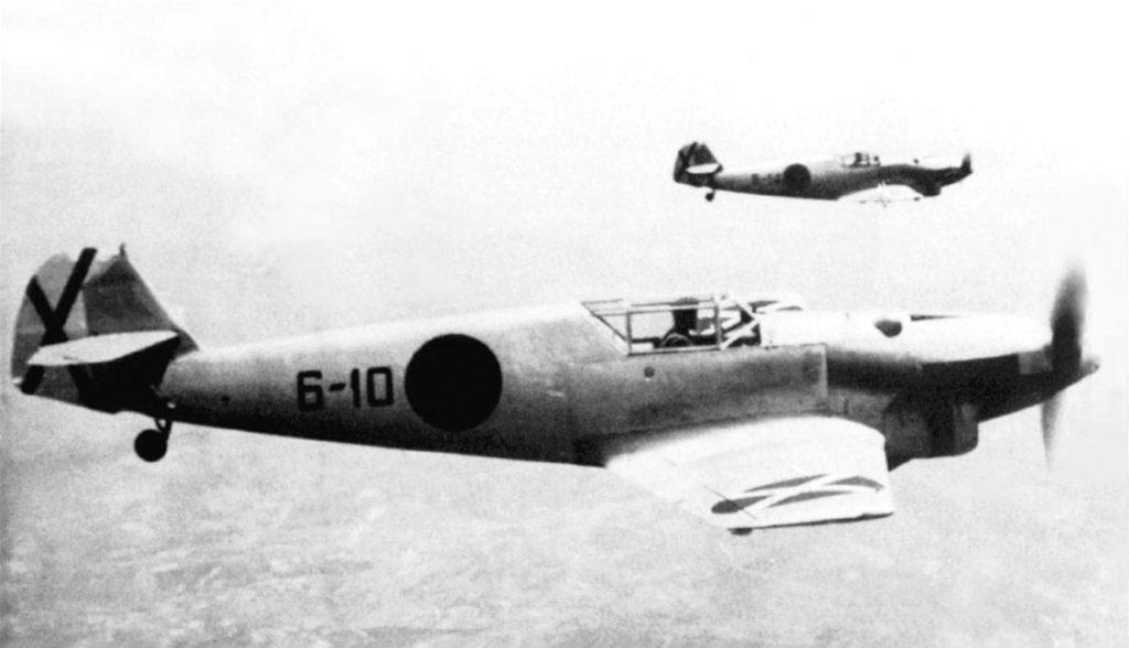 """Messerschmitt Bf.109A 6-10 и 6-14 """"Legion Condor"""" Испания"""