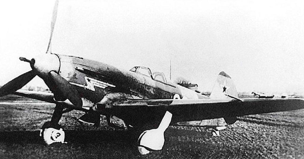 Як-9К из состава 3ИАК