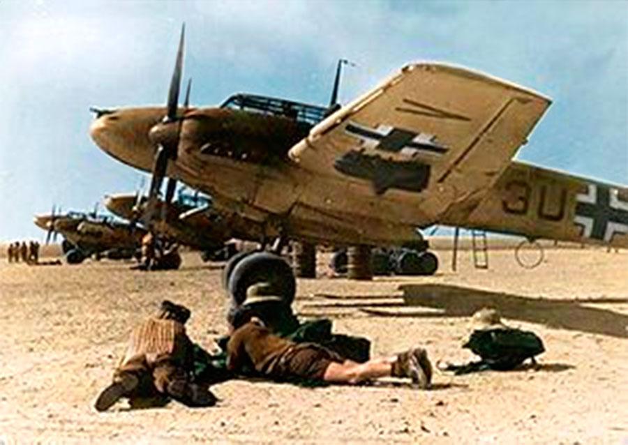 """Messerschmitt Bf.110E """"Zerstorer"""" ZG26 Северная Африка 1941 год"""